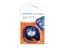 DYMO LetraTAG - Kunststoff - weiß - Rolle (1,2 cm x 4 m) 1 Kassette(n) Band - für LetraTag LT-100H, LT-100T, QX50, XR