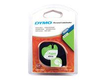 DYMO LetraTAG - Papier - weiß - Rolle (1,2 cm x 4 m) 1 Rolle(n) Band - für LetraTag LT-100H, LT-100T, QX50, XR