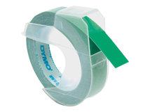 DYMO - Selbstklebend - grün - Rolle (0,9 cm x 3 m) 1 Rolle(n) 3D-Prägeband - für DYMO Junior embosser