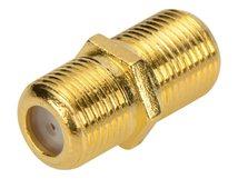 Ednet - Antennenkoppler - F-Stecker (W) bis F-Stecker (W)