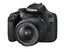 EOS 2000D - Digitalkamera - SLR - 24.1 MPix - APS-C - 1080p / 30 BpS