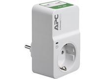 Essential Surgearrest PM1WU2 - Überspannungsschutz - Wechselstrom 230 V - Ausgangsanschlüsse: 1 - Deutschland - weiß