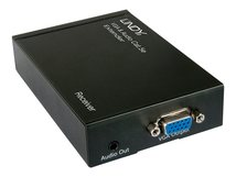 Extender CAT5e/6 VGA/Audio Extender - Receiver - Erweiterung für Video/Audio - VGA - bis zu 300 m