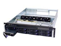 FANTEC SRC-2080X07 - Rack-Montage - 2U - SSI CEB - SATA/SAS - Hot-Swap