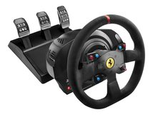 Ferrari T300 Integral Racing - Alcantara - Lenkrad- und Pedale-Set - kabelgebunden - für PC, Sony PlayStation 3, Sony PlayStation 4