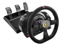 Ferrari T300 Integral Racing - Alcantara - Lenkrad- und Pedale-Set - kabelgebunden - für PC, Sony PlayStation 3, Sony PlayStation 4, Sony PlayStation 5