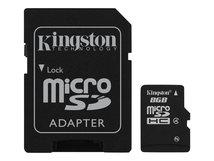 - Flash-Speicherkarte (microSDHC/SD-Adapter inbegriffen) - 8 GB - Class 4 - microSDHC