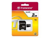 - Flash-Speicherkarte (SD-Adapter inbegriffen) - 2 GB - microSD