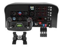 Flight Yoke System - Steuerhorn und Gasregler - kabelgebunden - für PC