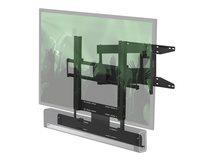 """FLXBCM651021 - Klammer - Schwarz - Bildschirmgröße: 101.6-165.1 cm (40""""-65"""") - Wandmontage - für Sonos Beam, PLAYBAR"""