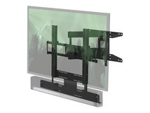 """FLXBCM651021 - Wandhalterung für LCD / Plasmabildschirm /Sound-Leiste - Schwarz - Bildschirmgröße: 101.6-165.1 cm (40""""-65"""") - für Sonos Beam, PLAYBAR"""