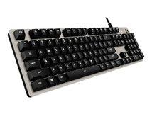 G413 - Tastatur - hintergrundbeleuchtet - USB - USA International - Tastenschalter: Romer-G