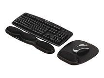 Gel Keyboard Wristrest - Tastatur-Handgelenkauflage - Schwarz