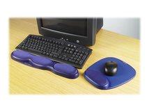 Gel Mouse Rest - Mauspad mit Handgelenkpolsterkissen - Blau