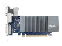 GT710-SL-2GD5 - Grafikkarten - GF GT 710 - 2 GB GDDR5 - PCIe 2.0 - DVI, D-Sub, HDMI