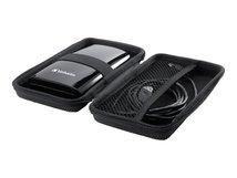 """Hard Case Medium - Festplattenlaufwerk-Schutzgehäuse - Kapazität: 1 Festplatte (2,5"""") - Schwarz (Packung mit 2)"""