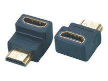- HDMI-Adapter - HDMI (W) bis HDMI (M) - 90° Stecker