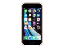 - Hintere Abdeckung für Mobiltelefon - Silikon - rosa sandfarben - für iPhone 7, 8, SE (2. Generation)