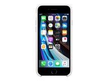 - Hintere Abdeckung für Mobiltelefon - Silikon - weiß - für iPhone 7, 8, SE (2. Generation)