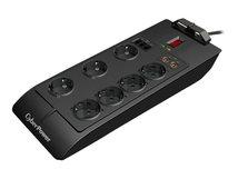 Home Theater Series SB0701AD - Überspannungsschutz - Wechselstrom 250 V - 2.5 kW - Ausgangsanschlüsse: 7 - Deutschland
