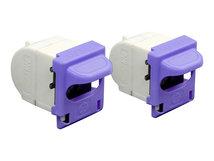 HP - 2er-Pack - 1500 Heftklammern - Stapel-Kartuschenauffüllung - für LaserJet Enterprise MFP M528, MFP M578; LaserJet Enterprise Flow MFP M528, MFP M578