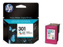 HP 301 - Farbe (Cyan, Magenta, Gelb) - Original - Tintenpatrone - für Deskjet 1000, 1010, 1050 J410, 1050A J410, 1051A J410, 1055 J410, 1056 J410, 1510, 1512