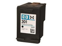 HP 301 - Schwarz - original - Tintenpatrone - für Deskjet 1000, 1010, 1050 J410, 1050A J410, 1051A J410, 1055 J410, 1056 J410, (1510), 1512