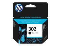 HP 302 - 3.5 ml - Schwarz - original - Tintenpatrone - für Deskjet 11XX, 21XX, 36XX; Envy 451X, 452X; Officejet 38XX, 46XX, 52XX