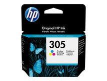 HP 305 - 4.48 ml - Farbe (Cyan, Magenta, Gelb) - original - Tintenpatrone - für Deskjet 1255, 23XX, 27XX, 41XX; DeskJet Plus 41XX; Envy 60XX, 64XX; ENVY Pro 64XX