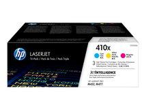 HP 410X - 3er-Pack - Hohe Ergiebigkeit - Gelb, Cyan, Magenta - original - LaserJet
