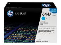 HP 644A - Cyan - Original - LaserJet - Tonerpatrone (Q6461A) - für Color LaserJet 4730mfp, 4730x, 4730xm, 4730xs, CM4730, CM4730f, CM4730fm, CM4730fsk