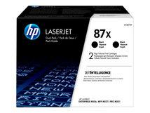 HP 87X - 2er-Pack - Hohe Ergiebigkeit - Schwarz - original - LaserJet