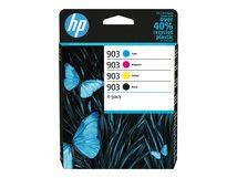 HP 903 - 4er-Pack - Schwarz, Gelb, Cyan, Magenta - Original - Tintenpatrone - für Officejet 69XX; Officejet Pro 69XX