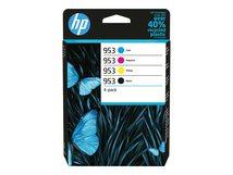 HP 953 - 4er-Pack - Schwarz, Gelb, Cyan, Magenta - Original - Tintenpatrone - für Officejet Pro 7740, 8210, 8216, 8218, 8710, 8715, 8720, 8725, 8730, 8740