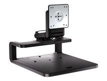 """HP Adjustable Display Stand - Aufstellung für LCD-Display/Notebook - Bildschirmgröße: 61 cm (24"""") - für HP 245 G7, 340 G5; EliteBook x360; Mobile Thin Client mt45; ZBook 15 G6, 17 G6"""