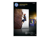 HP Advanced Glossy Photo Paper - Glänzend - 100 x 150 mm - 250 g/m² - 25 Blatt Fotopapier - für Officejet 80XX; Photosmart B110, Wireless B110; Smart Tank Plus 55X, 571, 655