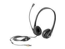 HP Business Headset v2, PC/Spiele, Binaural, Schwarz, HP 280 G1 MT; HP ProDesk 400 G1: MT, SFF, DM (Mini); HP ProDesk 400 G2.5 SFF, MT; HP ProDesk 405..., Verkabelt, Ohrumschließend