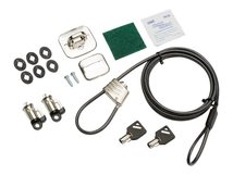 HP Business PC Security Lock v3 Kit - Sicherheitskit - für HP 280 G3, 280 G4, 285 G3, 290 G1, 290 G2, 290 G3; Desktop Pro A 300 G3, Pro A G2; EliteDesk 705 G4 (micro tower, SFF), 705 G5 (SFF), 800 G4 (SFF, tower), 800 G5 (SFF, tower); ProDesk 400 G5 (micro tower, SFF), 400 G6 (micro tower, SFF), 600 G4 (micro tower, SFF), 600 G5 (micro tower, SFF)