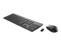 HP Business Slim - Tastenfeld-und-Maus-Set - kabellos - 2.4 GHz - Deutschland - für HP 260 G3, t430; EliteDesk 705 G4, 800 G4; ProOne 400 G4; Workstation Z2, Z2 G4