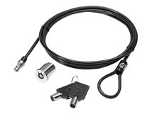 HP Docking Station Cable Lock - Sicherheitskabelschloss - für EliteBook 735 G5, 745 G5, 755 G5, 840r G4; Spectre x360; ZBook Studio G5, Studio x360 G5