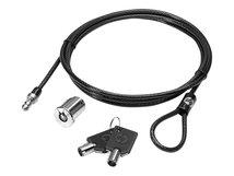 HP Docking Station Cable Lock - Sicherheitskabelschloss - für EliteBook 735 G6, 745 G6, 840 G6, 8770; ProBook 640 G5, 650 G5; ZBook Firefly 14 G7, 15 G7