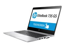 "HP EliteBook 735 G5 - Ryzen 5 2500U / 2 GHz - Win 10 Pro 64-Bit - 8 GB RAM - 256 GB SSD NVMe - 33.8 cm (13.3"") IPS 1920 x 1080 (Full HD)"