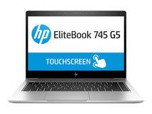 """HP EliteBook 745 G5 - Ryzen 7 Pro 2700U / 2.2 GHz - Win 10 Pro 64-Bit - 8 GB RAM - 256 GB SSD NVMe, TLC - 35.56 cm (14"""") IPS 1920 x 1080 (Full HD)"""