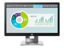 "HP EliteDisplay E202 - LED-Monitor - 50.8 cm (20"") (20"" sichtbar) - 1600 x 900 - IPS - 250 cd/m²"