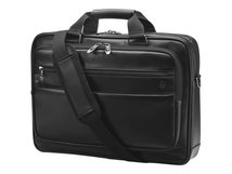 """HP Executive Leather Top Load - Notebook-Tasche - 39.6 cm (15.6"""") - Schwarz"""