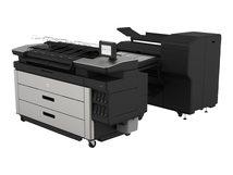 HP F70 - Faltvorrichtung mit Heftstreifenautomat - für PageWide XL 5000, 5100, 5200, 8000, 8200