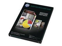 HP - Glänzend - hochweiß - A3 (297 x 420 mm) - 160 g/m² - 100 Blatt Broschürenpapier