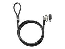 HP Keyed Cable Lock - Sicherheitskabelschloss - 1.83 m - für HP 340 G5; Desktop Pro A 300 G3; Elite Slice G2; ProBook 430 G7, 44X G7, 45X G7
