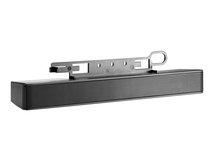HP LCD Speaker Bar - Lautsprecher - für HP 100; EliteDesk 705 G3; ProDesk 400 G4, 600 G3; ProOne 400 G3, 600 G3; Smart t410