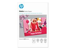 HP - Matt - 8,8 mil - 100 x 150 mm - 180 g/m² - 25 Blatt Fotopapier